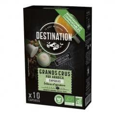 Destination Capsules café Biospresso grands crus