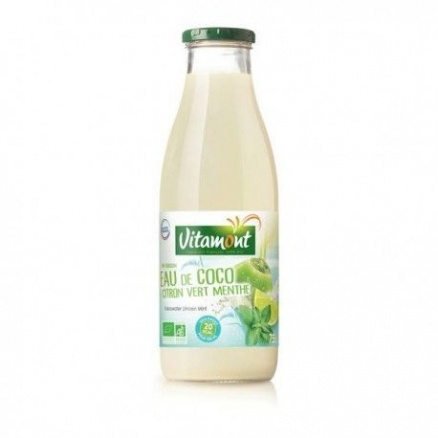 Eau de Coco Citron Vert et Menthe