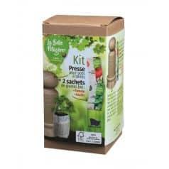Kit Presse Pots à Semis FSC Tomate et Basilic