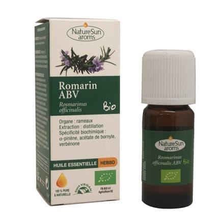 Huile Essentielle Romarin ABV 10 ml NatureSun'aroms