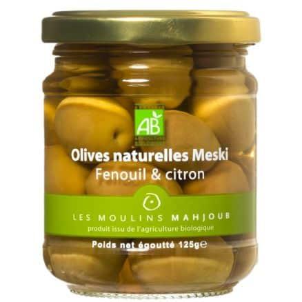Olives Vertes Meski Fenouil & Citron