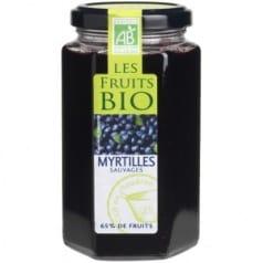 Confiture Myrtilles Sauvages