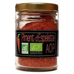 Piment D'Espelette AOP en Poudre
