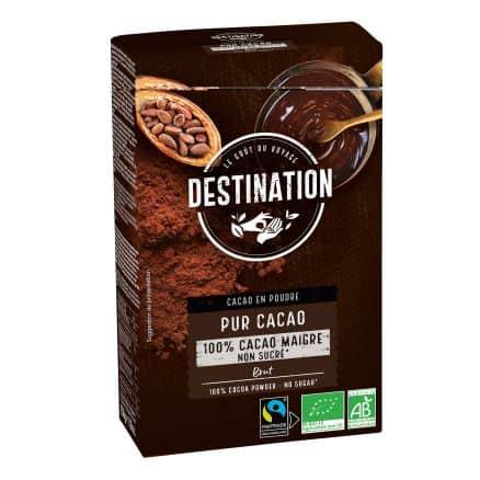 Boisson Cacao Maigre sans sucre équitable