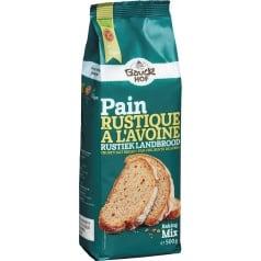 Préparation Pain Rustique à l'Avoine