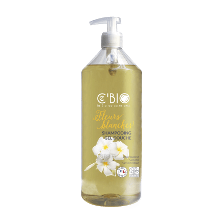 Shampooing Douche Fleurs Blanches