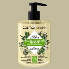 Shampooing Douche Tonifiant Menthe Eucalyptus