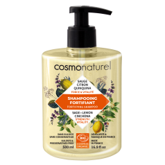 Shampooing Fortifiant Sauge Citron Quinquina