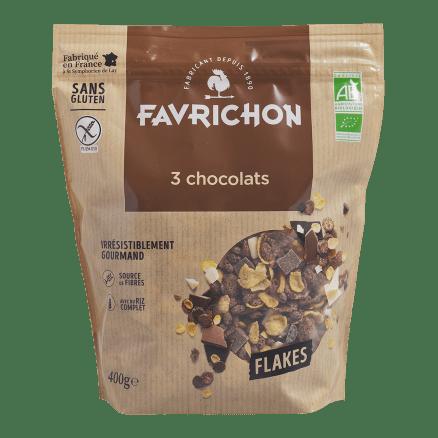 Flakes 3 Chocolats Sans Gluten