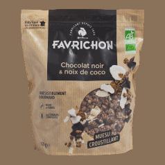Muesli Croustillant Chocolat Noir & Noix de Coco