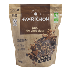 Muesli Croustillant Duo de Chocolats Sans Gluten