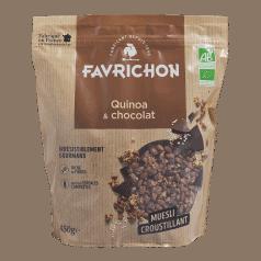 Muesli Croustillant Quinoa & Chocolat