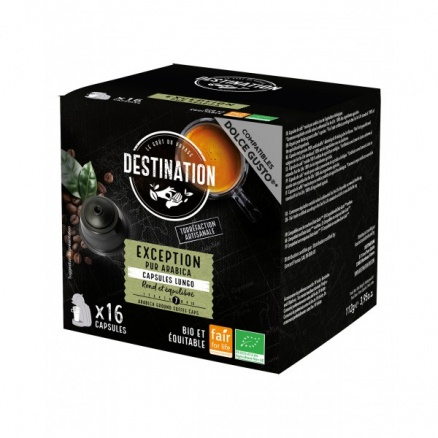 Capsules Dolce Gusto Exception Pur Arabica