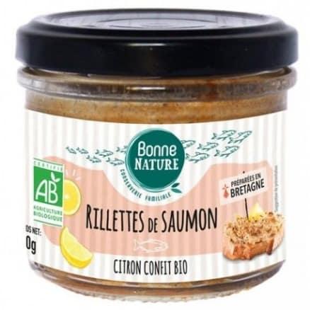 Rillettes de Saumon au Citron Confit
