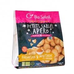 Petits Sablés Apéro au Parmigiano Reggiano AOP & Moutarde à l'Ancienne