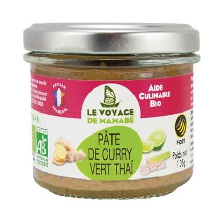 Pâte de Curry Vert Thaï
