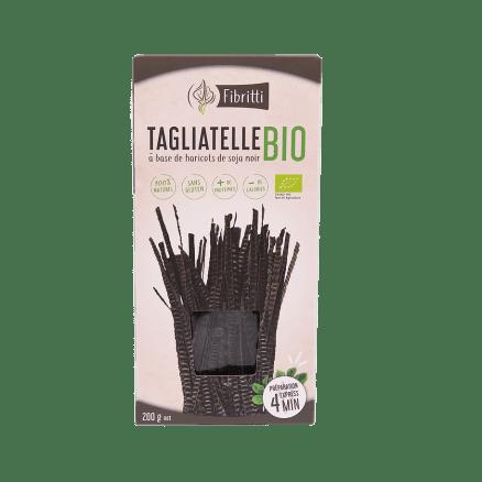 Tagliatelle Bio à Base de Haricots de Soja Noir