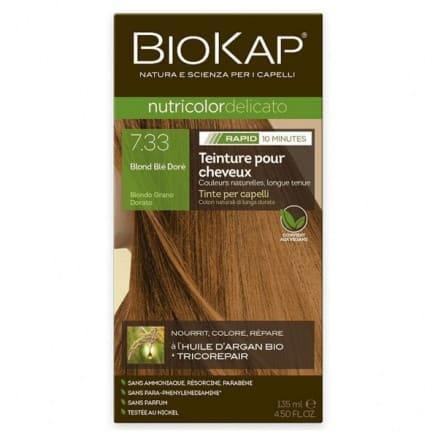 Coloration Delicato Rapid 7.33 Blond Doré