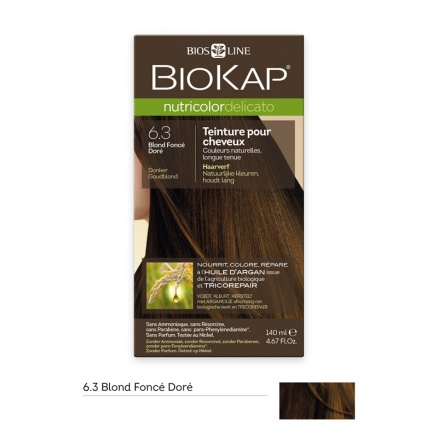 Coloration Delicato 6.3 Blond Foncé Doré