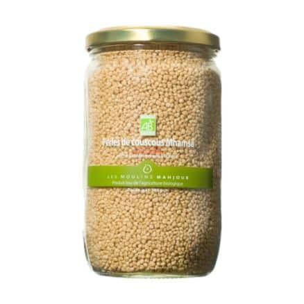 Perles de couscous Mhamsa Blé Complet