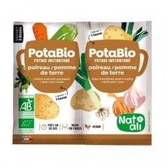 Potabio poireau - pomme de terre bio