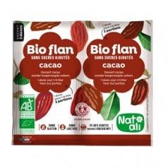 Bio Flan Cacao