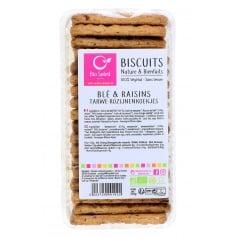 Biscuits blé raisins