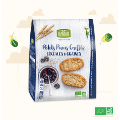 Petits Pains Grillés Céréales & Graines