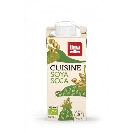 Crème de soja Cuisine