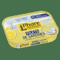Filets de Sardines Marinés au Citron Bio