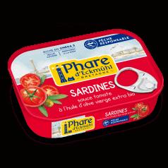 Sardines Sauce Tomate & Huile d'Olive