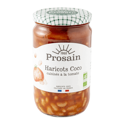 Haricots Coco Cuisinés à la Tomate