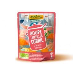 Soupe aux Lentilles Corail et Epices