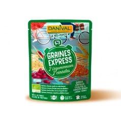 Les graines express 2 céréales & 2 Légumineuses