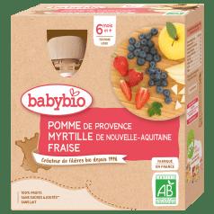 Cool Fruits Pomme Fraise Myrtille de Vitabio