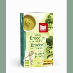 Velouté de Brocolis au Sarrasin & Coriandre