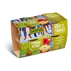 Purée 100% France Pomme & Kiwi
