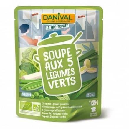 Soupe 5 Légumes Verts