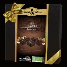 Coffret Assortiment Pralinés Chocolat Noir