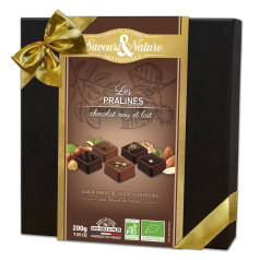 Assortiment 25 Chocolats Noirs & au Lait Pralinés