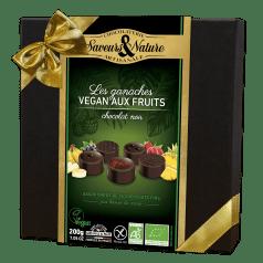 Assortiment Chocolat Noir aux Fruits Vegan