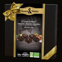 Coffret Assortiment Bonbons Chocolat Noir