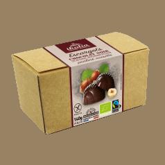 Ballotin d'Escargots Praliné Chocolat Noir