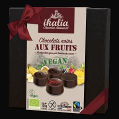 Assortiment Chocolats Noir aux Fruits Vegan