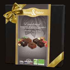 Coffret Assortiment de Bonbons Chocolat Noir et Lait